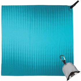 PackTowl Nano Handdoek, teal pixel